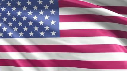 Nahtlos wiederholende Flagge USA