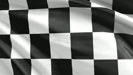 Nahtlos wiederholende Zielflagge
