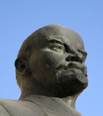 Statue von Lenin im Detail