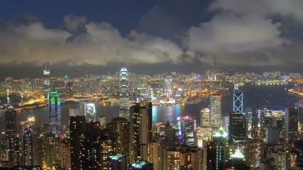 Hong kong time-lapse