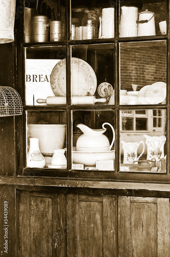 Vintage shop window
