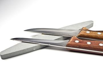 Messer und Wetzstein