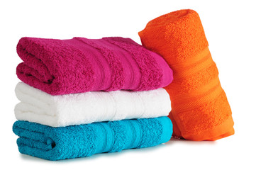 Bath towels.