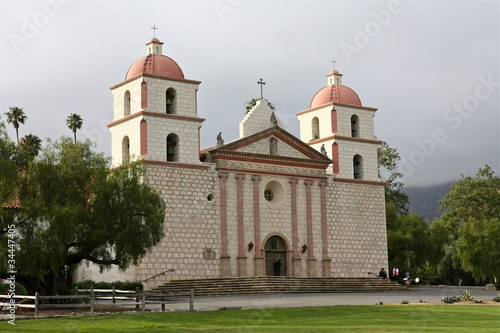 Mission in Santa Barbara