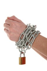 Hands, Chain and Lock