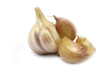 Garlic and сloves