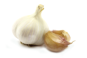 Garlic and сloves