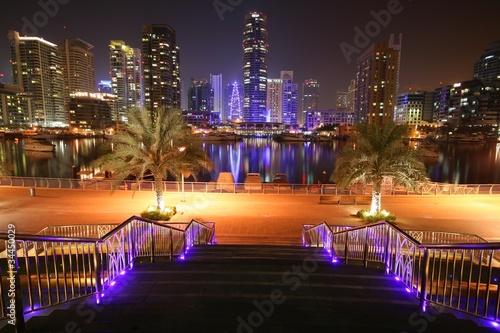 Dubai Marina, puerto
