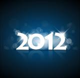 Fototapety New Years card 2012