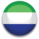 sierra leone flag in a button