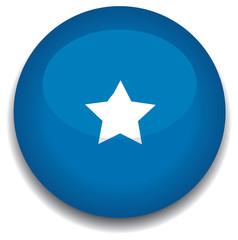 somolia flag in a button