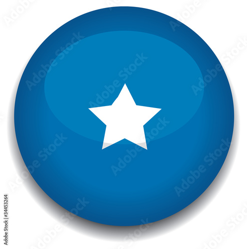 somolia flag in a button