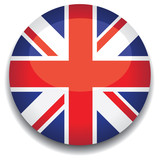uk flag in a button