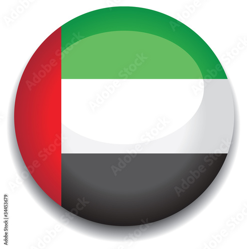 uae flag in a button
