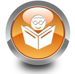 E-learning glossy icon