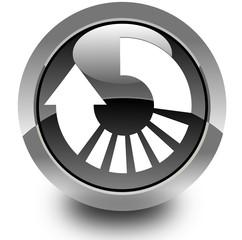 Refresh glossy icon