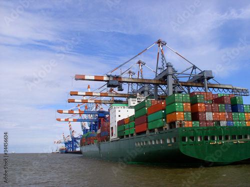 Containerterminal - Bremerhaven