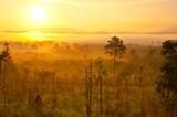 Fototapeta azja - atmosfera - Zachód / Wschód Słońca