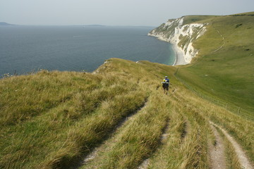 south west coast path in Dorset