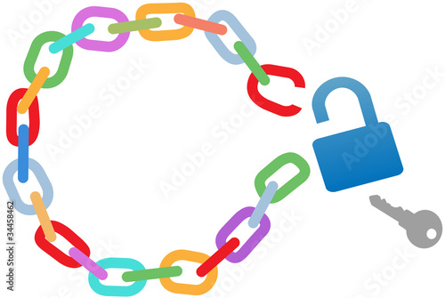 Breakout unlock broken circle chain escape