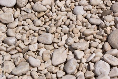 Beach pebbles background