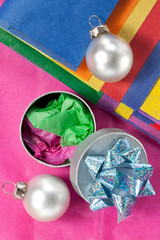 Gift Box,Paper and Xmas Decorations