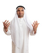 Arab man in praise or worship