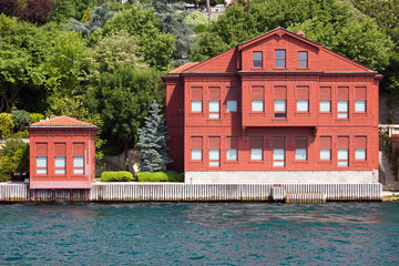 Villa on the Bosphorus Strait