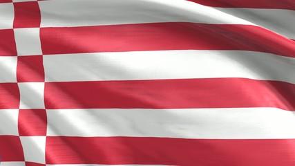 Nahtlos wiederholende Flagge Bremen