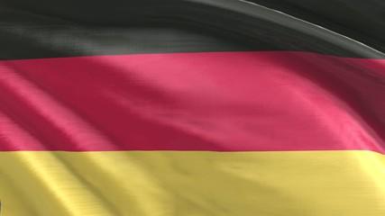 Nahtlos wiederholende Flagge Deutschland