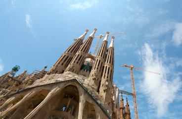 """BARCELONA SPAIN - JULY 25: """"La Sagrada Familia"""","""