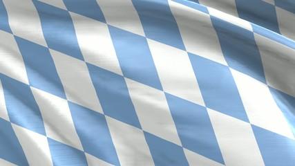 Nahtlos wiederholende Flagge Bayern