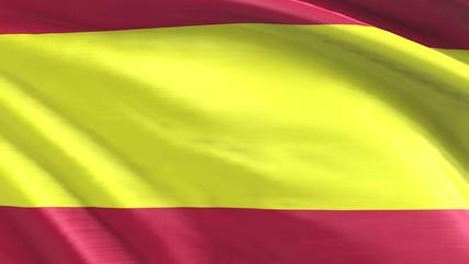 Nahtlos wiederholende Flagge Spanien