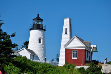 Pemaquid Lighthouse, Lincoln County, Maine, USA