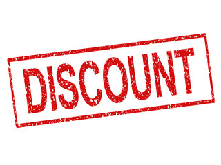 "Rubber stamped ""Discount"""