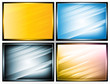 light and shade stripes, vector