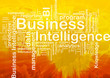 Business intelligence background concept