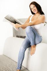 Fashionmagazin lesen