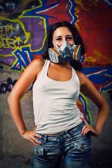 Postnuclear funny girl