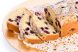 Blueberry Cornmeal Loaf