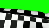Chequered Flag on Greenscreen