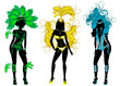 Carnival Silhouettes