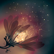 Abstract flower / Fairy background