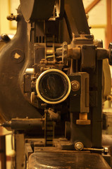 Movie Projector Old Big len
