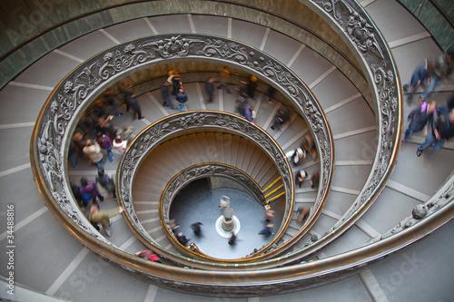 Foto op Plexiglas Trappen spiral staircase