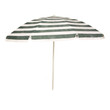 Umbrella from sun on white background