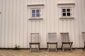 Holzhaus in Svolvar