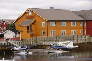 Wasserflugzeug in Norwegen