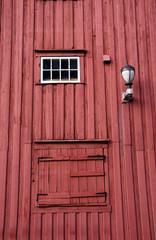 rotes Haus in Norwegen