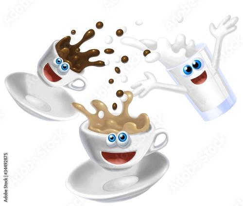 creazione del cappuccino